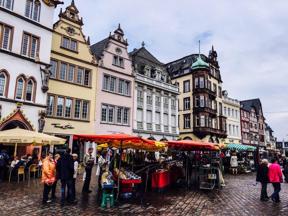 City centre. Trier, Germany.
