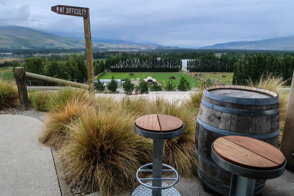 Mt. Difficulty Winery, New Zealand